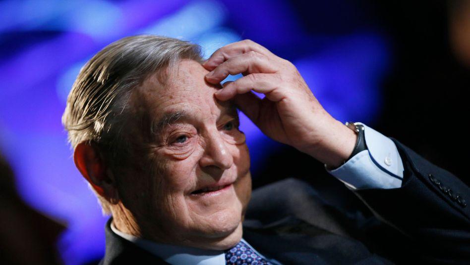 """""""Erzfeind"""" der Bank von England: Hedgefonds-Milliardär George Soros"""