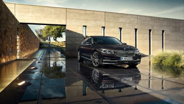 Leichtbau, Laserlicht, Gestensteuerung: Das kann der neue 7er-BMW