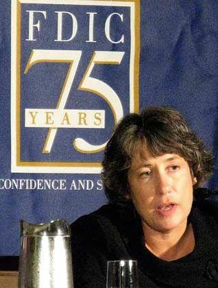 Das Bankensterben geht weiter: FDIC-Chefin Sheila Bair
