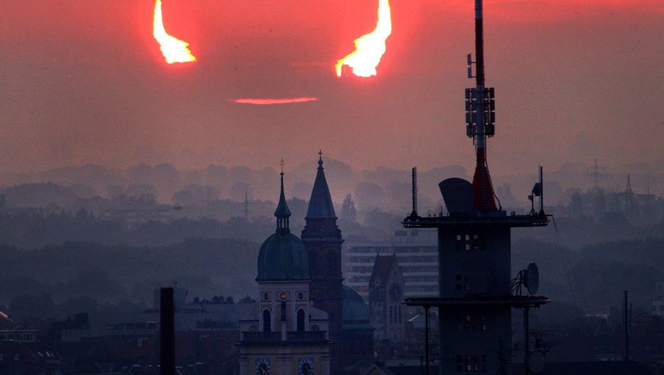 Sonnenfinsternis in München (2003): Der Vormarsch der Solarenergie stellt die Energiewirtschaft dieses Mal vor Probleme