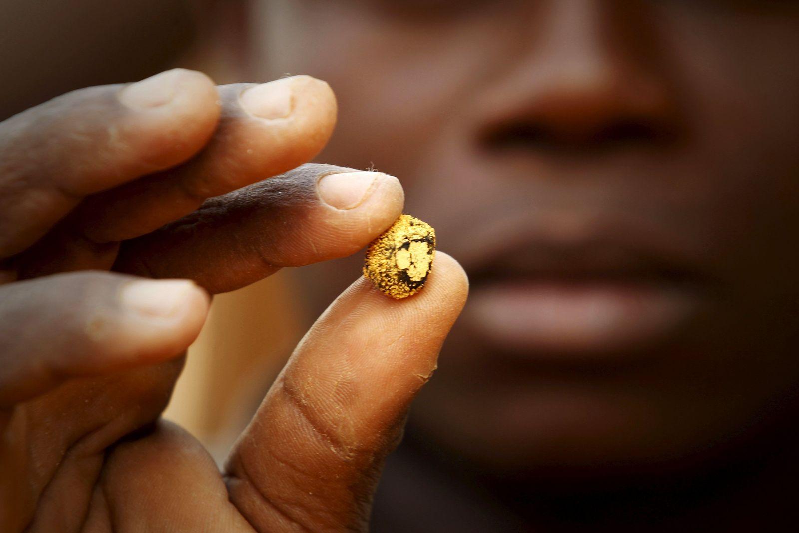 Elfenbeinküste / Goldminen