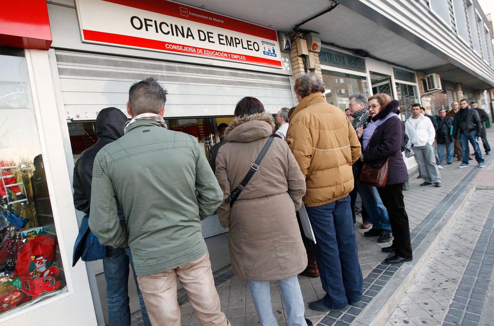 Spanien / Arbeitslose / Madrid