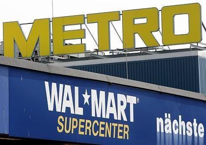 Kostentreiber: Die im Vorjahr übernommenen Wal-Mart-Märkte belasten vorerst die Metro-Bilanz