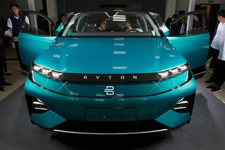 Byton hat erste fahrfähige Prototypen bereits in den USA, China und Europa präsentiert