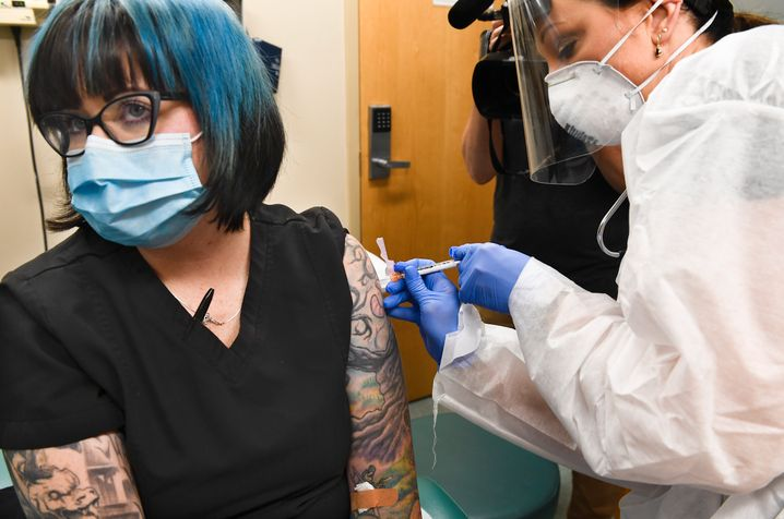 Suche nach der Rettung: Corona-Impfstoffstudie in New York