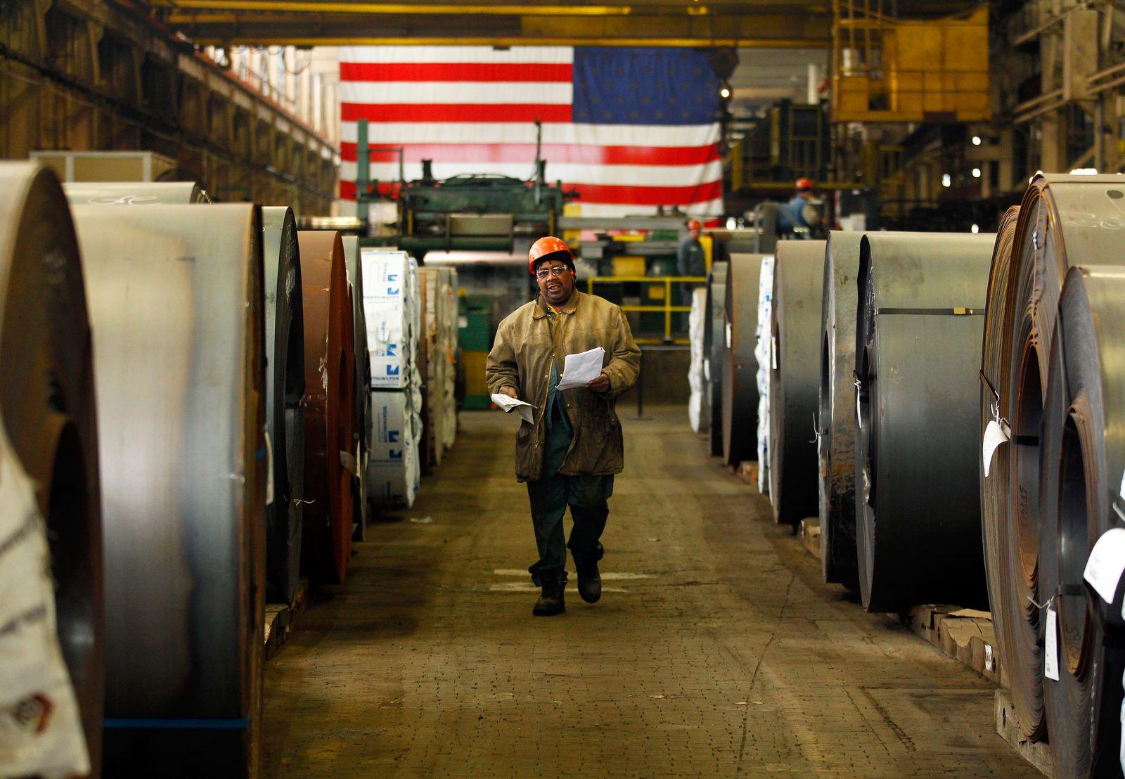 USA / Konjunktur / Wirtschaft /Stahl