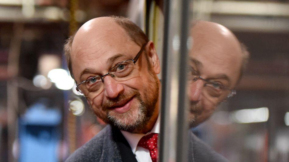 """Kommt an: SPD-Kanzlerkandidat Martin Schulz wiederbelebt """"alte"""" Themen der SPD wie soziale Gerechtigkeit. Die Menschen in Deutschland nehmen ihm das ab"""