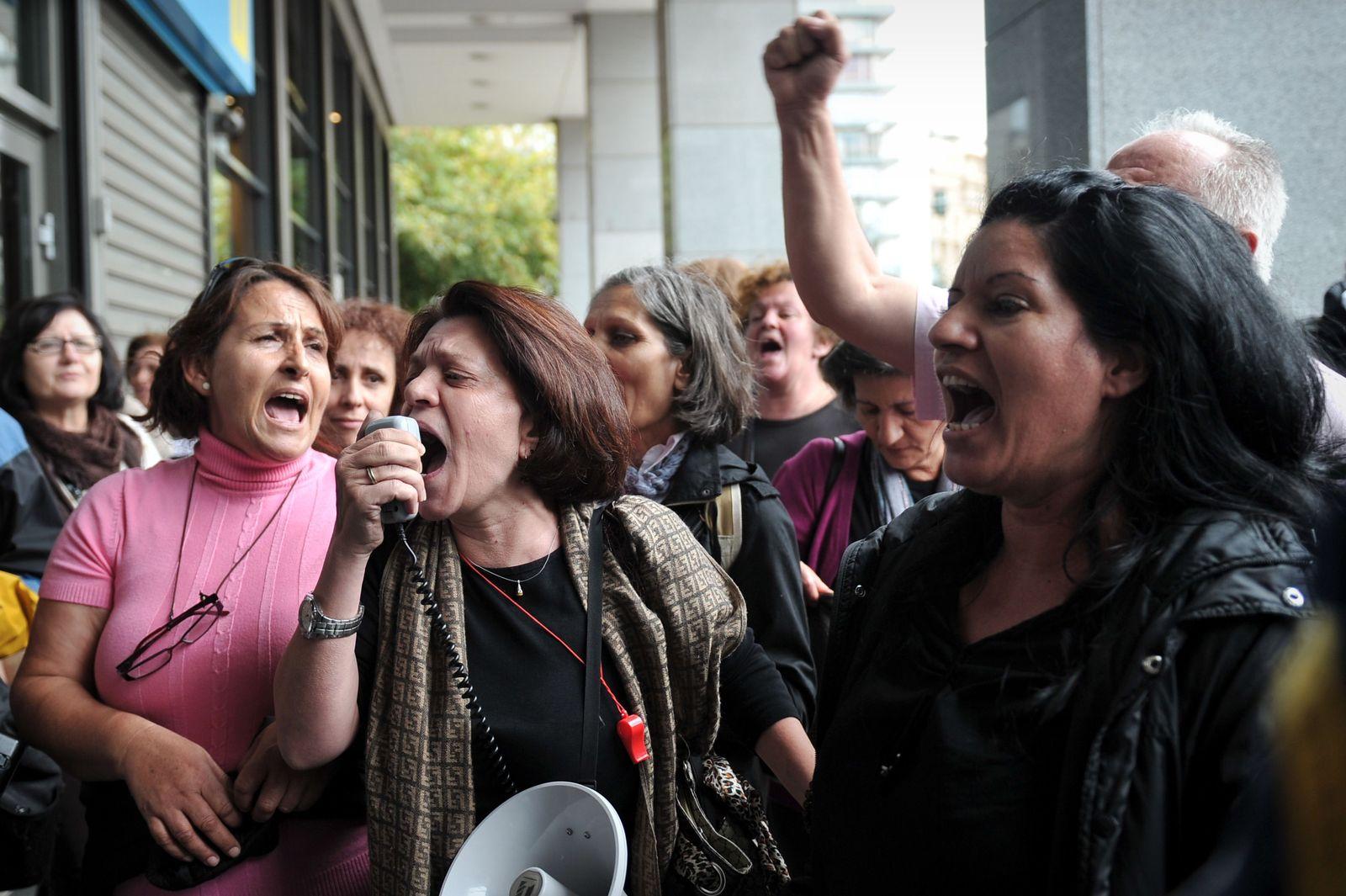 Griechenland Athen Protest
