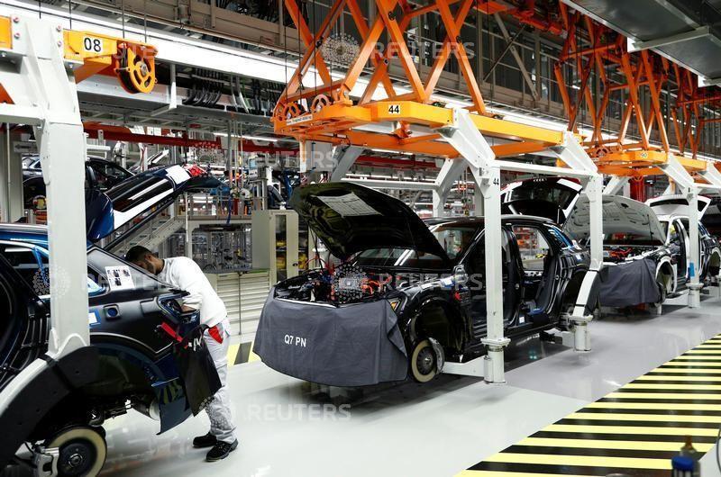 Audi e-tron Produktion Brüssel