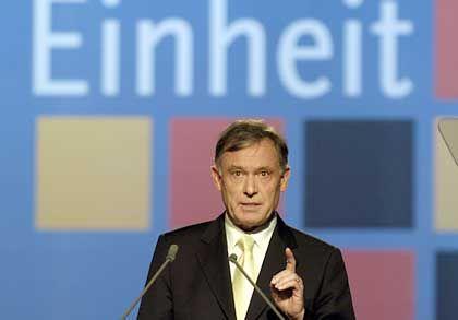 Bundespräsident Köhler: Entrosten, umbauen, in Schwung bringen