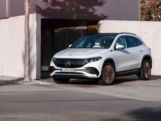 Showcar: Mercedes EQA 250, Edition 1, digitalweiss