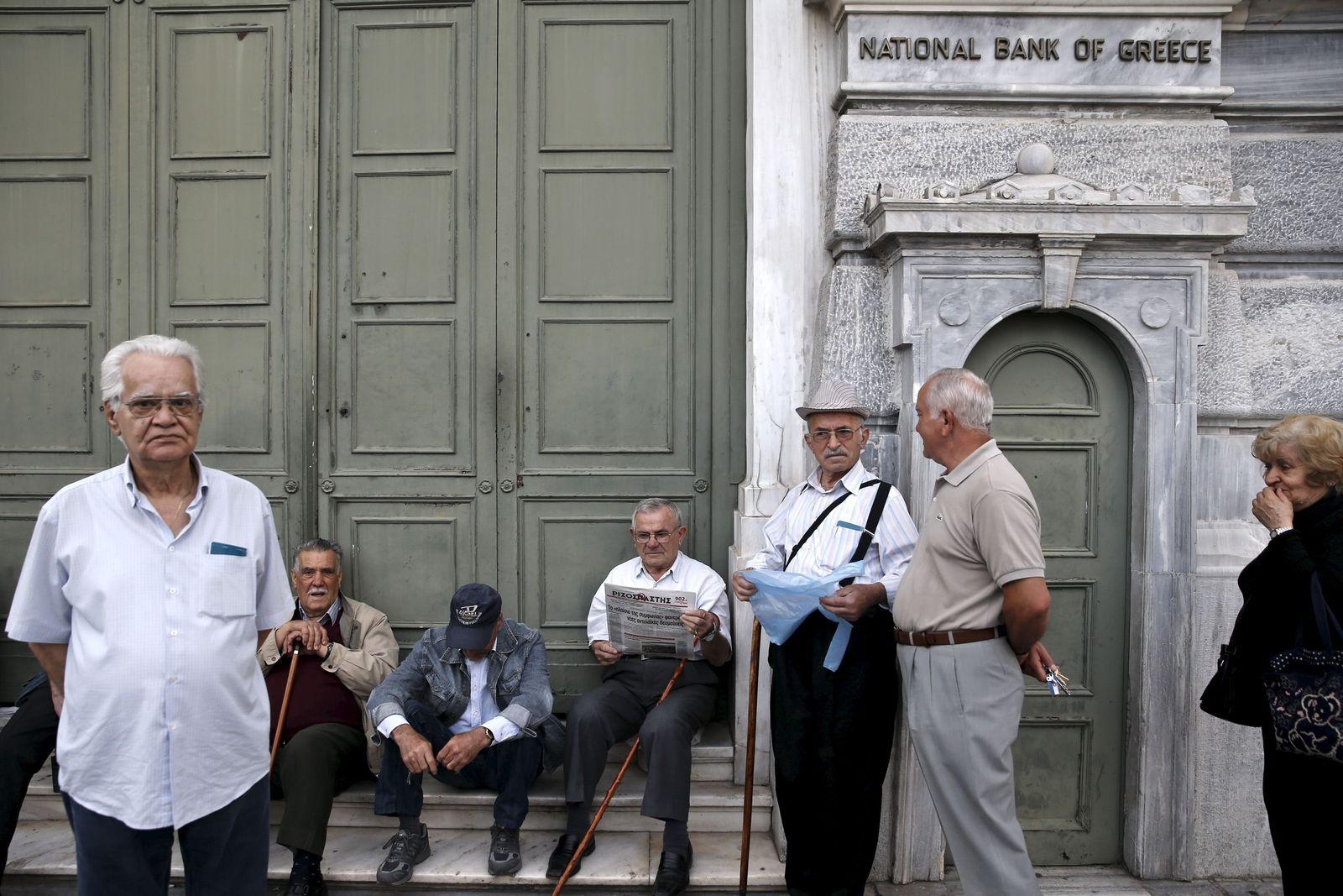 Rentner/ Griechenland