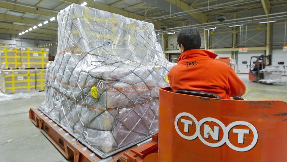 TNT-Paketzentrum: Für das laufende Jahr erwartet das Unternehmen schwierige Geschäftsbedingungen
