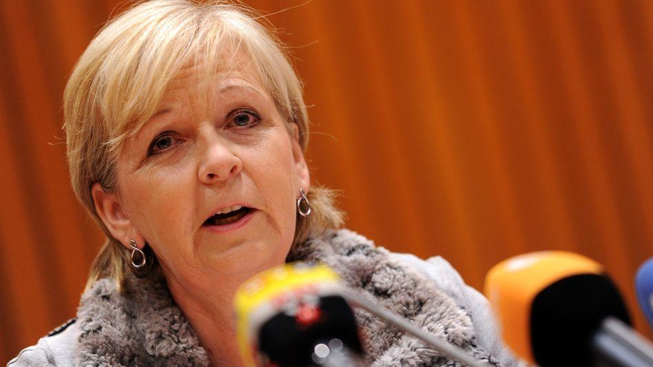 Hannelore Kraft: Die sozialdemokratische Ministerpräsidentin Nordrhein-Westfalens schließt für sich persönlich eine Kanzlerkandidatur in Zukunft aus