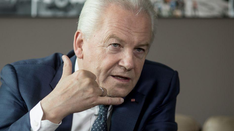 Rüdiger Grube (Bild Archiv): Der ehemalige Bahnchef soll Chefaufseher bei dem Verkehrstechnik-Konznern Vossloh werden