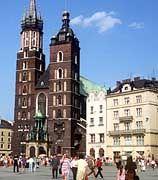 Marienkirche in Krakau: Die Stadt ist ein beliebtes Ziel, um Polnisch zu lernen