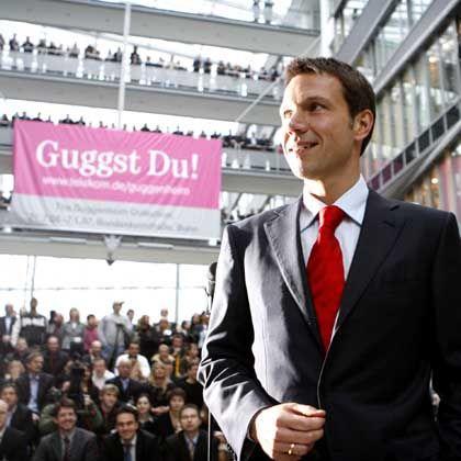 Reformator: Obermann bei seinem Amtsantritt in Bonn