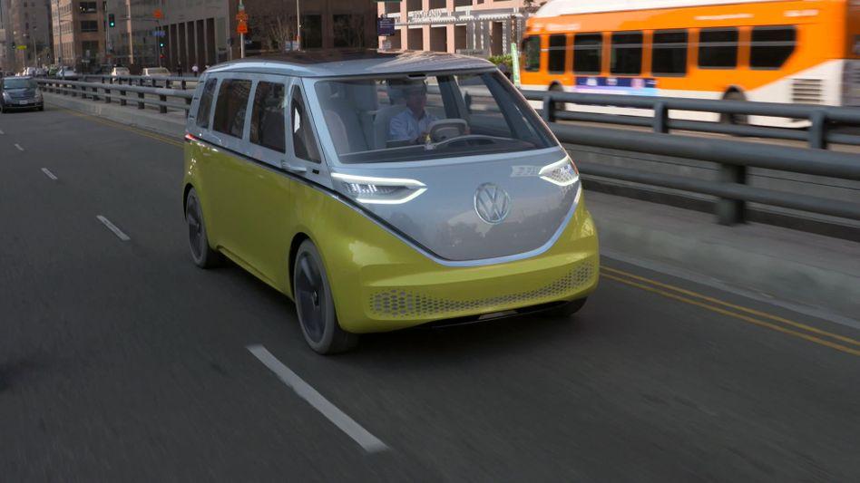 """VWs Elektrobus ID Buzz: Katar will ein """"emissionsfreies, elektrisches und autonomes Nahverkehrssystem in Doha anbieten"""""""