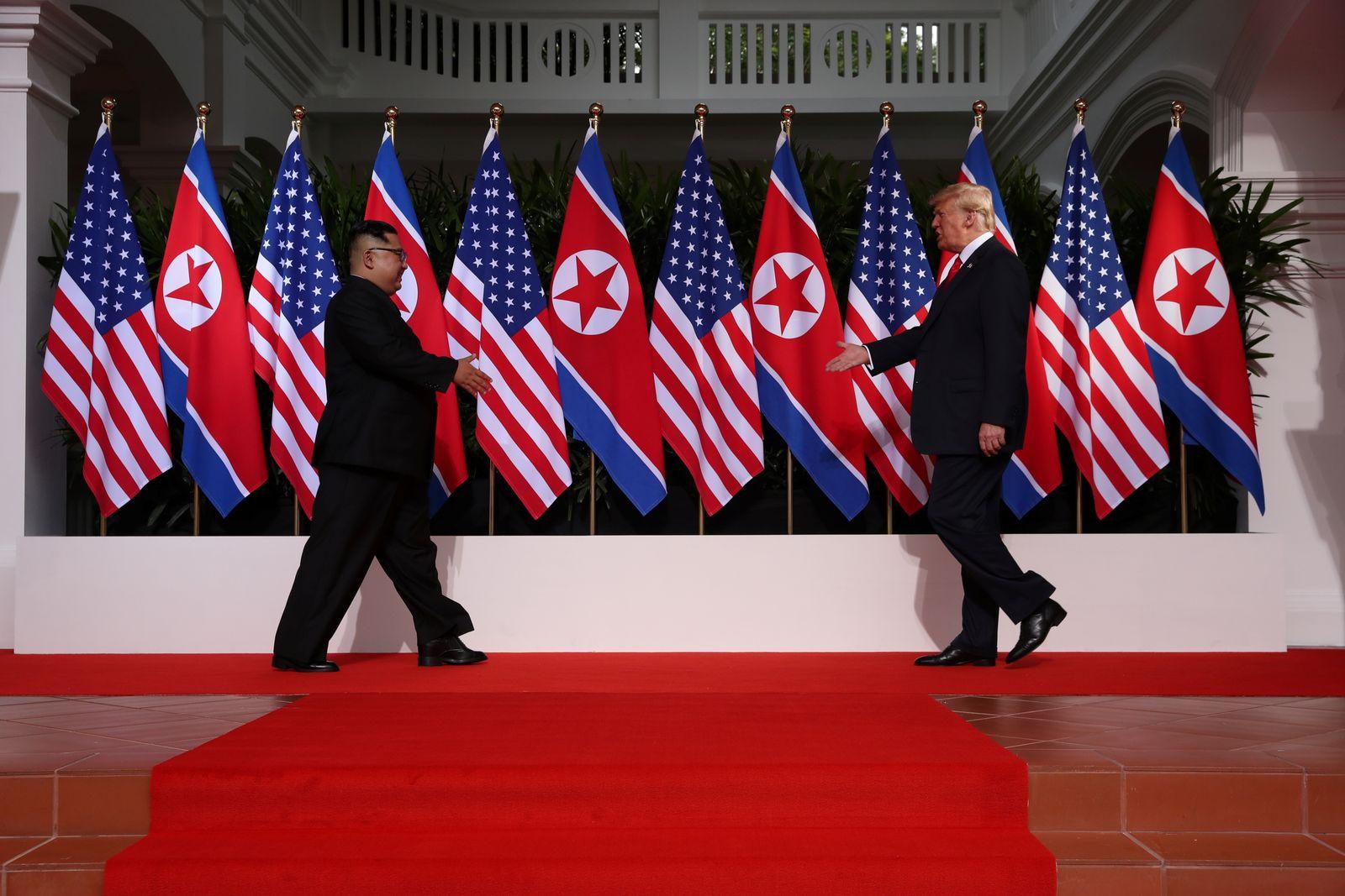 Kim Jong Un / Donald Trump / Hosen