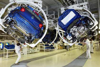 Golf-Produktion: Auch im Wolfsburger Werk sehen die Beschäftigten der Zukunft mit Bangen entgegen
