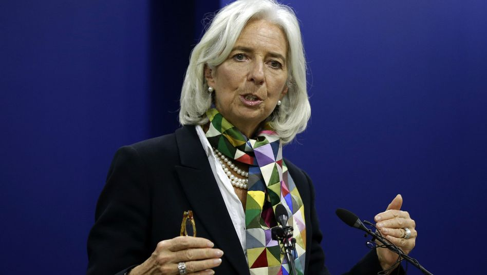 """IWF-Chefin Lagarde: Globaler Dialog beim Schutz der finanziellen Stabilität von """"grundlegender Bedeutung"""""""