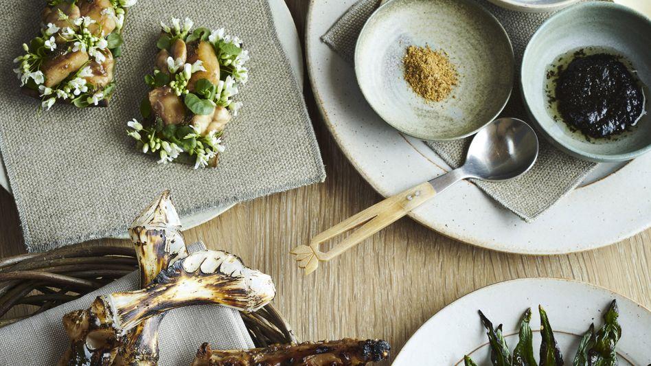 """Man isst auch mit dem Auge gut: im """"Noma"""" in Kopenhagen."""