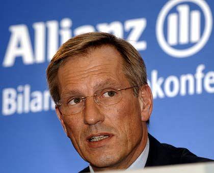 Erwartungen übertroffen: Allianz-Chef Michael Diekmann gab die Quartalszahlen bereits am Dienstagabend heraus