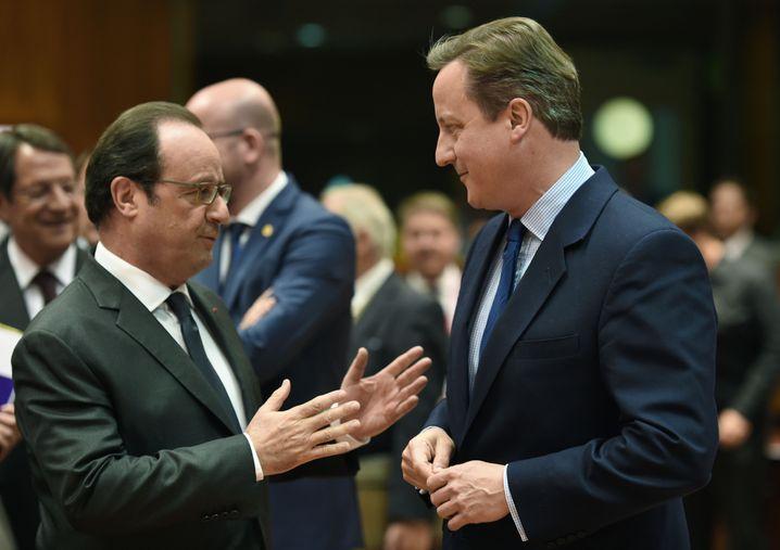 """Holland, Cameron in Brüssel: """"Vier Freiheiten oder keine"""""""