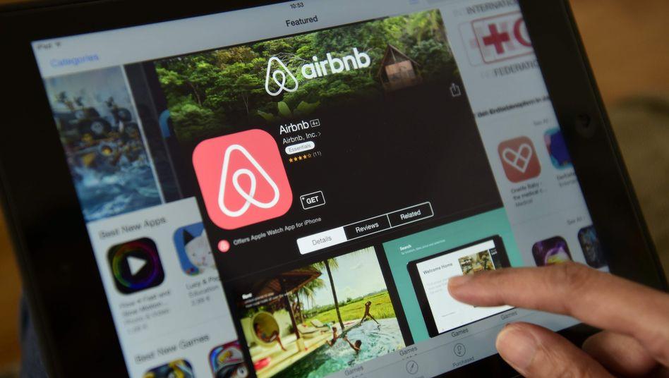 Reisebuchung im Internet: Airbnb macht wieder bessere Geschäft