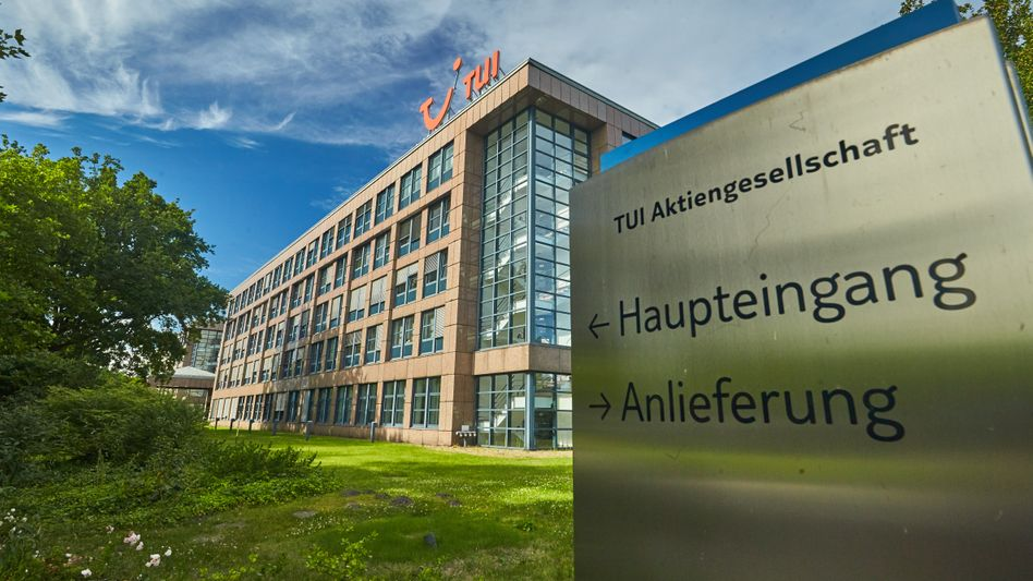 Tui-Zentrale in Hannover.