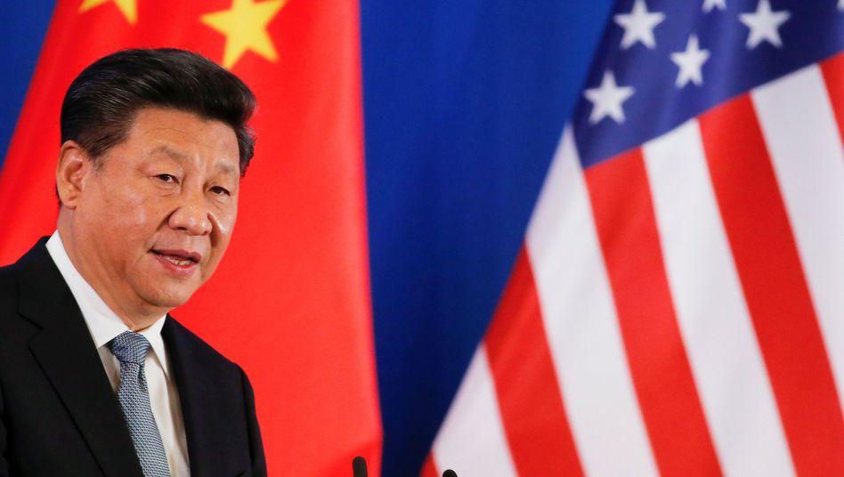 Chinas President Xi Jinping zeigt wenig Begeisterung für Trumps Untersuchung