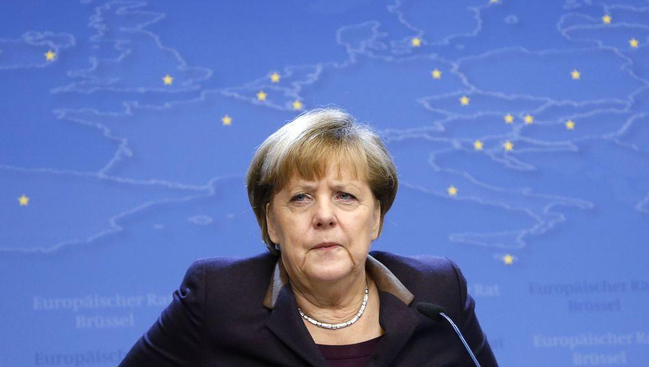 Angela Merkel: Unvollständiger Bruch des linken hinteren Beckenrings