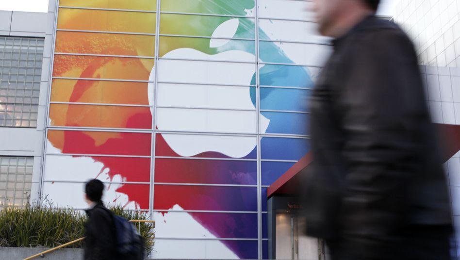 Apple-Werbung in San Francisco: Die Kartellwächter kritisieren, dass Apple und die Verlage die Preise für E-Books im konzerneigenen iTunes-Store bestimmen