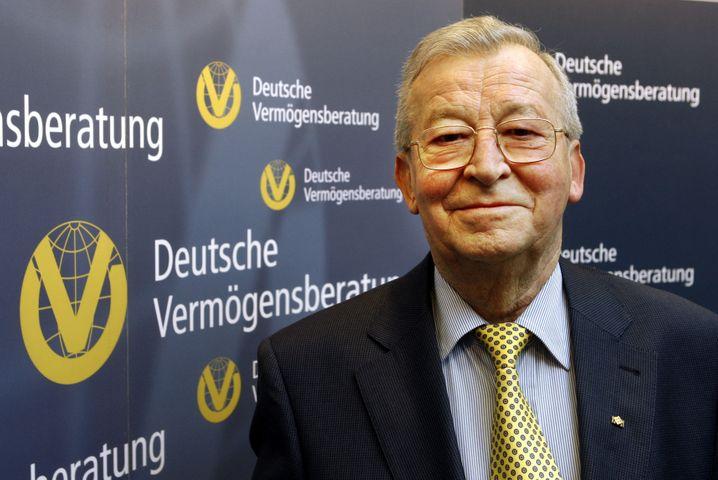 Reinfried Pohl: Der DVAG-Gründer hat ein Faible für Steine und Beton