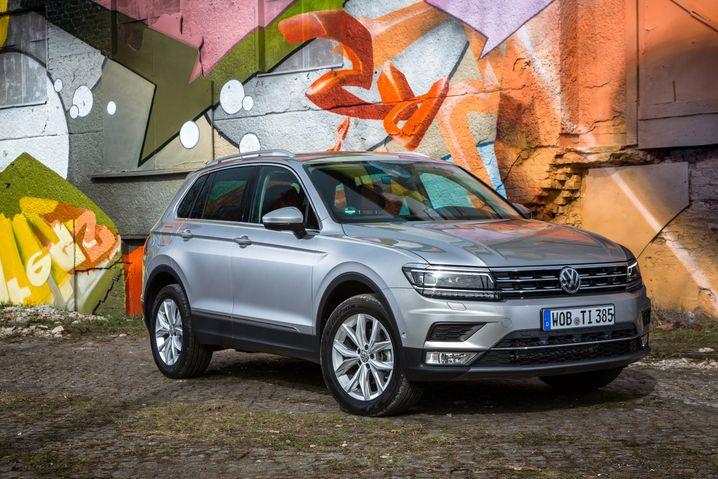 VW Tiguan: Die zweite Generation hat nicht nur mehr Falze, sondern auch mehr Assistenzsysteme - Rang 5