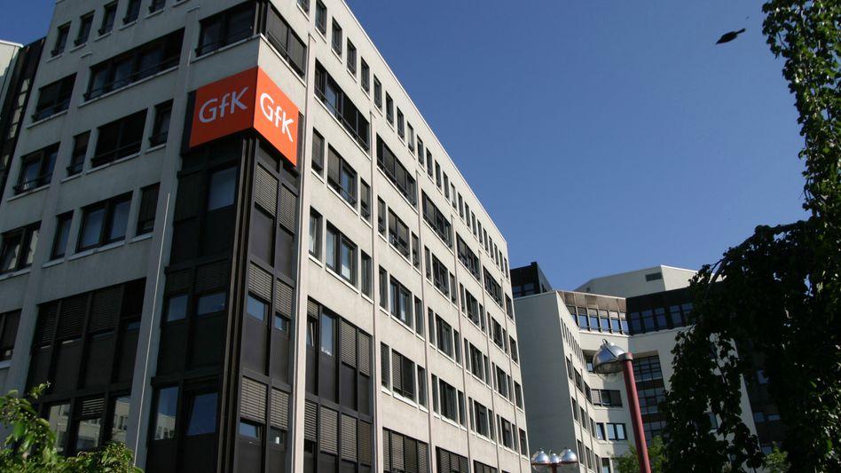 Geballter Unmut: GfK-Zentrale in Nürnberg