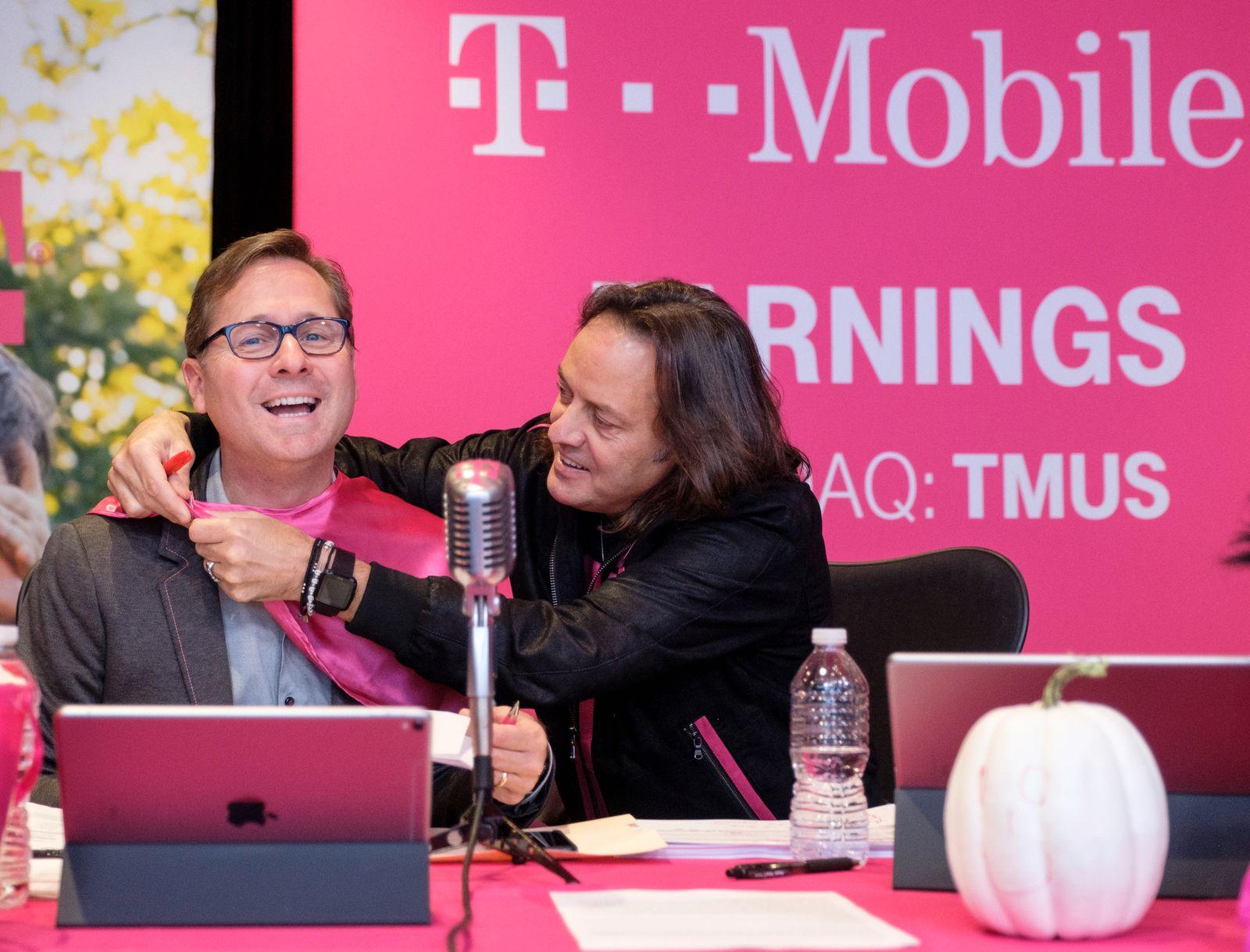 T-Mobile Mike Sievert / John Legere