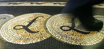 Stolz der Nation: Das Pfund Sterling steht für die britische Unabhängigkeit - nicht zuletzt vom ungeliebten Euro