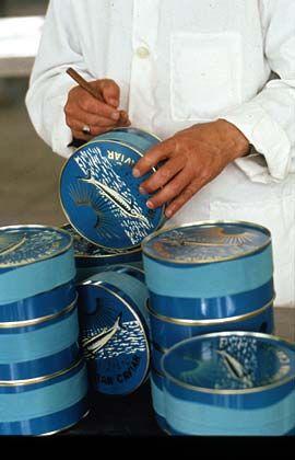 Es muss immer Kaviar sein: Iranischer Beluga-Kaviar kostet 7071,42 Euro (Platz zwei)