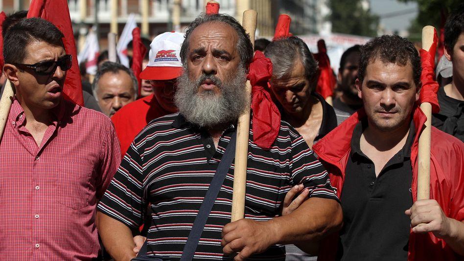 Streik in Athen: Wieder wollen Tausende gegen das Sparen im eigenen Land protestieren