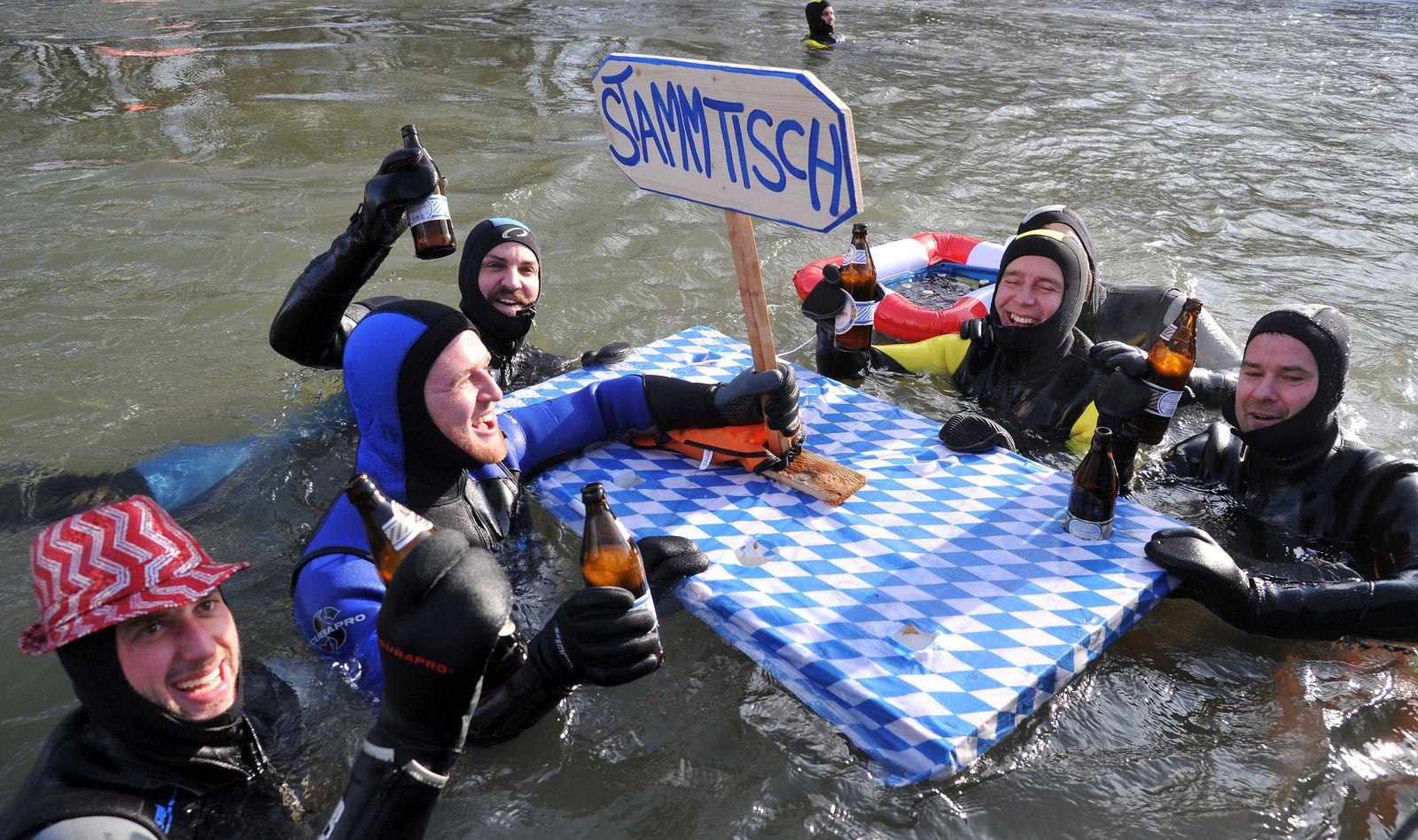 Donauschwimmen/ Neuburg