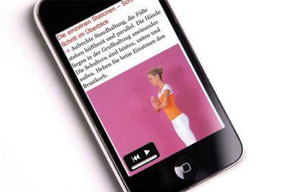 Bücher aufs iPhone: Hier ein Yoga-Ratgeber