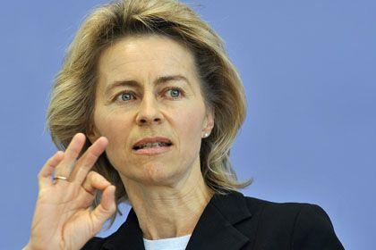 Kündigte schnelle Änderungen an: Arbeitsministerin von der Leyen