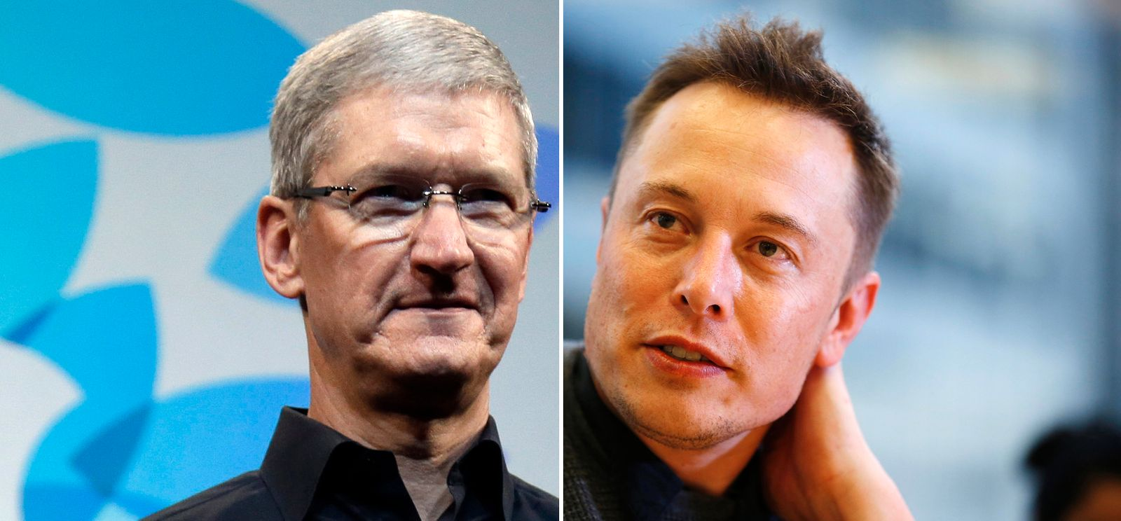 KOMBO Tim Cook / Elon Musk