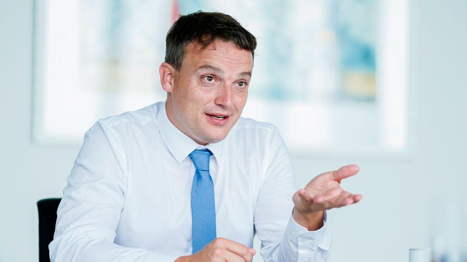 """""""Das war ein Fehler"""": SAP-Chef Christian Klein über seine interne Kommunikation"""