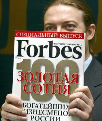 """""""Forbes"""": Forscher ermittelten den Kursverlauf hunderter Aktiengesellschaften, nachdem es die Firmen auf die Titelseiten von US-Magazinen brachten"""