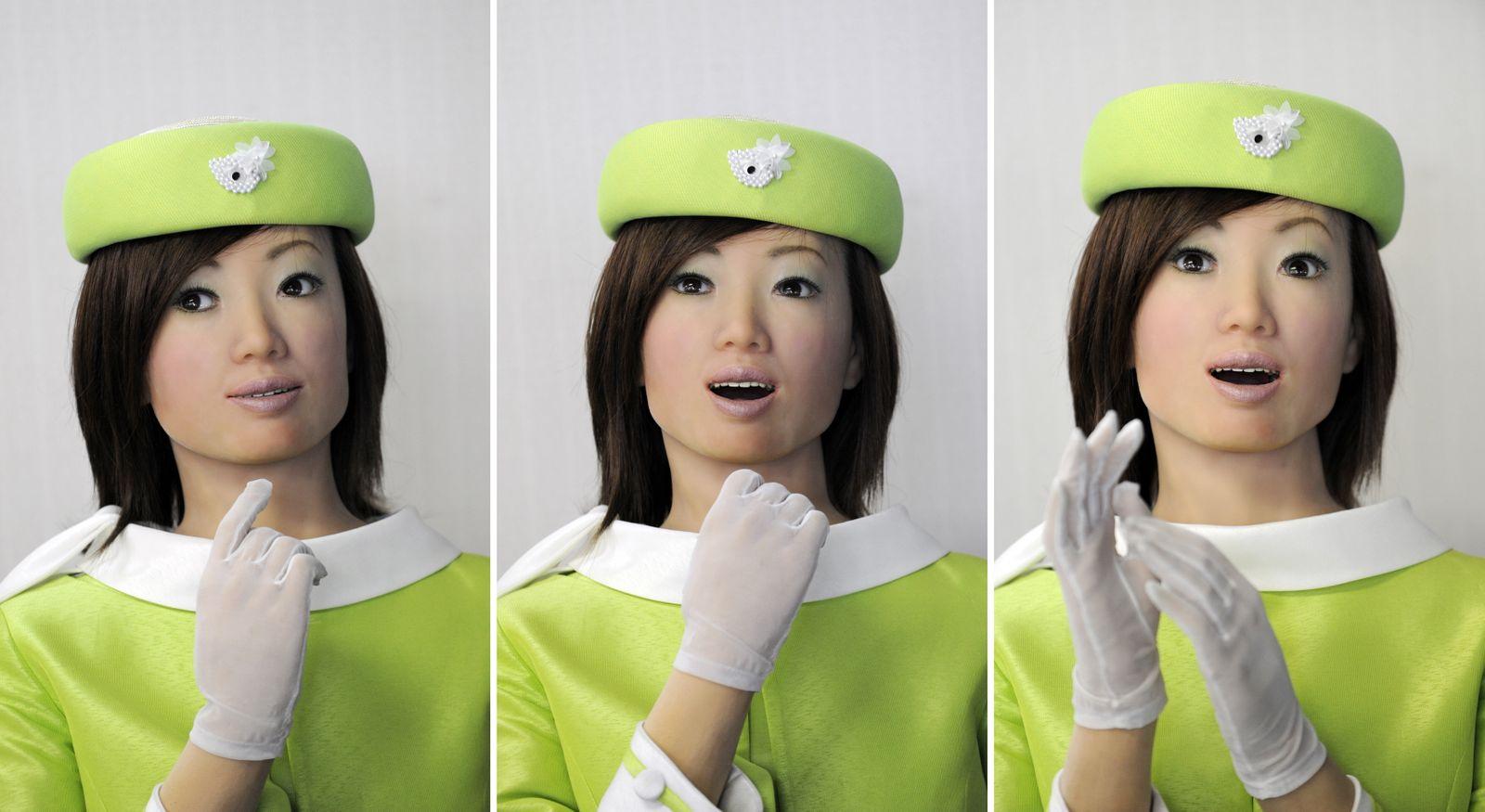 Japan / Humanoide Roboter