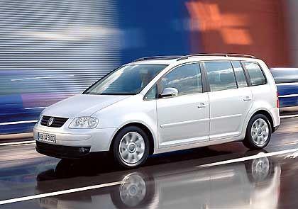 """""""Touran"""": Der Minivan aus Wolfsburg soll eine Modelllücke schließen"""