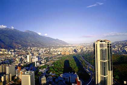 Blick auf Caracas: An Venezuelas Hauptstadt fließt das Gros der Anlegergelder nur vorbei
