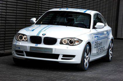 Schöne neue Autowelt: BMW-Elektrostudie Active-E-Concept